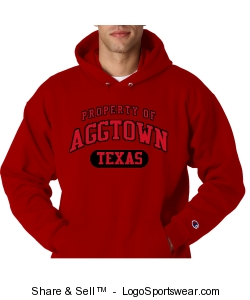 Heavyweight Mens Pullover Hooded Sweatshirt Design Zoom